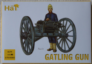Hat 1/72 HAT8179 British Gatling Gun (Colonal Wars)
